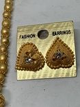 Новые серьги+ожерелье в наборе компании из Германии Jewelry earring, фото №4