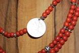 Старе намисто срібна монета, фото №4