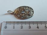 Советский кулон. Серебро 875 проба. Вес 4 г., фото №3