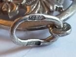 Советский кулон. Серебро 875 проба. Вес 4 г., фото №6