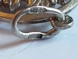 Советский кулон. Серебро 875 проба. Вес 4 г., фото №7