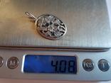 Советский кулон. Серебро 875 проба. Вес 4 г., фото №10