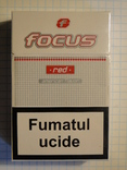 Сигареты FOCUS RED