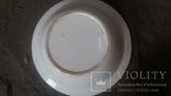 Старая большая тарелка, фото №3