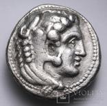 Срібна тетрадрахма Александра ІІІ Великого, 336-323 до н.е., фото №5