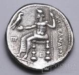 Срібна тетрадрахма Александра ІІІ Великого, 336-323 до н.е., фото №6