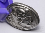 Срібна тетрадрахма Александра ІІІ Великого, 336-323 до н.е., фото №10
