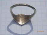 Перстенъ кр серебро копия, фото №3