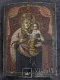 19 век, Украинская домашняя икона. Богородица., фото №4