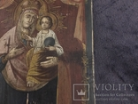 19 век, Украинская домашняя икона. Богородица., фото №5