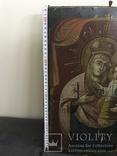 19 век, Украинская домашняя икона. Богородица., фото №9