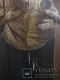 19 век, Украинская домашняя икона. Богородица., фото №10