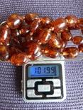 Бусы из янтаря, 100 грамм, фото №8