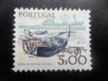 Корабли. Португалия. марка MLH, фото №2