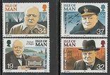 Остров Мэн 1990 Черчиль, фото №2