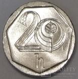 Чехія 20 гелерів, 2000