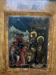 Икона рождество Христова 18век, фото №5