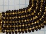 Золотистый новый браслет с Англии 38 грамм, фото №4