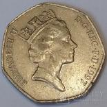 Велика Британія 50 пенсів, 1997 фото 2