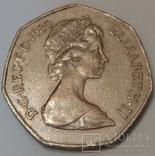 Велика Британія 50 нових пенсів, 1980 фото 1
