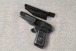 Игрушечный пистолет под пистоны Макорова с кобурой СССР, фото №6