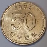 Південна Корея 50 вон, 2004
