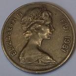 Фіджі 10 центів, 1981 фото 2