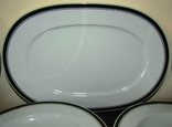 Сервиз. Блюдо огромные тарелки блюда салатники фарфор кобальт Германия, фото №6