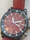 Часы наручные Красные на ходу, фото №5