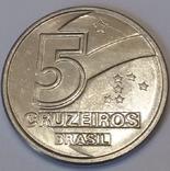 Бразилія 5 крузейро, 1990