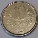Бразилія 10 сентаво, 1996