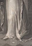 """Старинная гравюра. Шекспир. """"Генрих VI, часть вторая"""", акт III. 1803 год. (43 на 33 см.). фото 4"""