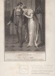 """Старинная гравюра. Шекспир. """"Генрих VI, часть вторая"""", акт III. 1803 год. (43 на 33 см.). фото 6"""