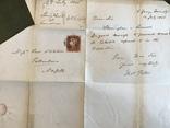 Красный пенни на письме Великобритании, фото №4