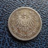1/2 марки 1905 Германия А серебро (,11.6.19), фото №3