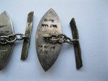 Серебряные запонки (Вьетнам), фото №7