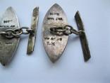 Серебряные запонки (Вьетнам), фото №11