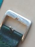 Часы наручные Зеленый браслет под золото, фото №12