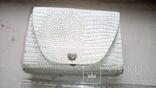 Наче шкіряна сумочка із дзеркалом, часів  СССР., фото №3
