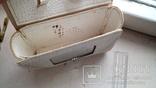 Наче шкіряна сумочка із дзеркалом, часів  СССР., фото №8