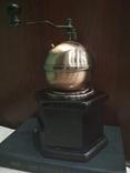Кофемолка коллекционная дерево медь, фото №3