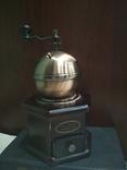 Кофемолка коллекционная дерево медь, фото №6