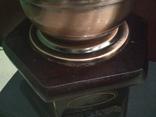 Кофемолка коллекционная дерево медь, фото №7