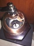 Кофемолка коллекционная дерево медь, фото №12