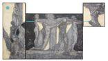 """Картина маслом триптих """"Калокагатия"""", 315х180см, фото №2"""