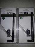 USB 2.0 WI - FI адаптер 2 шт. Нові. N-Стандарт., фото №2