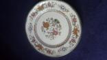 Старинная фарфоровая  тарелка, фото №4