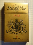 Сигареты Business Club Gold