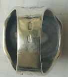 Печатка з вензелем. Срібло., фото №5