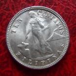 10 сентаво 1945 Филиппины серебро  (,12.1.29)~, фото №2